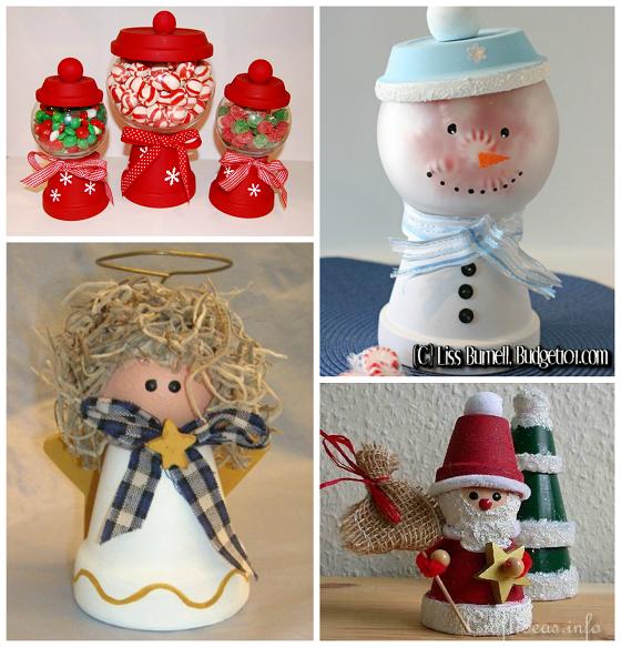 Terracotta Pot Christmas Craft
