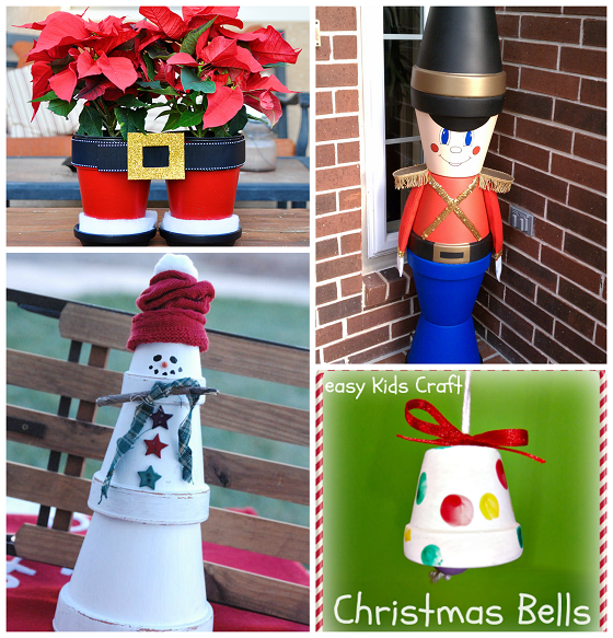 Creative Terra Cotta Pot Christmas Crafts - Crafty Morning