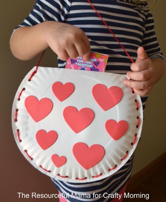 Valentines in Valentine bag