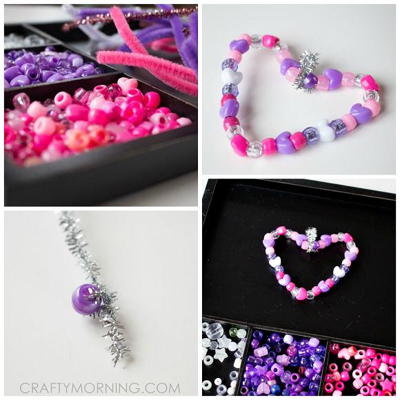 beaded-heart-ornaments-valentine-kids-craft