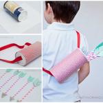 Paper Straw Cupid Arrows (Kids Valentine Craft)