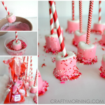 Adorable Valentine Marshmallow Treats (Gift Bag Idea)