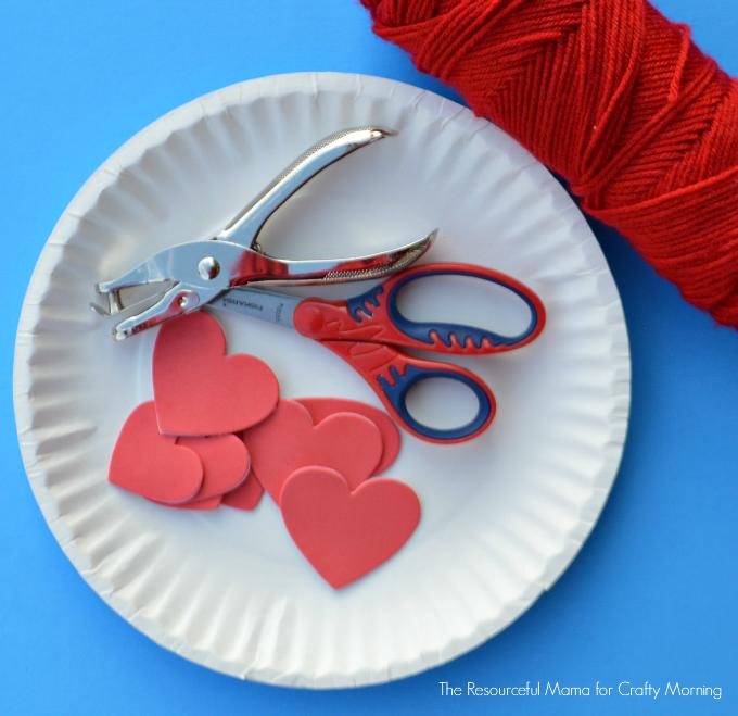 supplies for valentine bag1