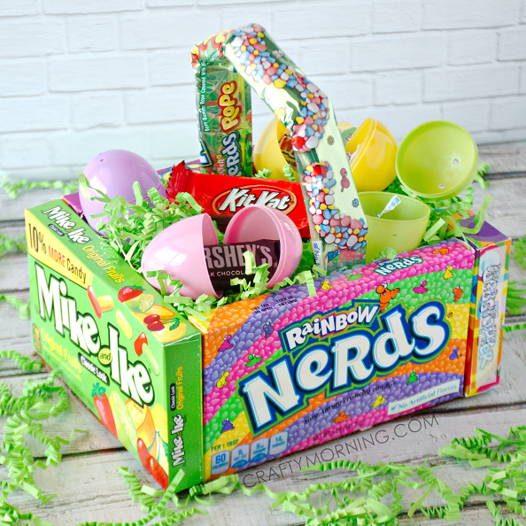 Candy Easter Basket Craft For Kids