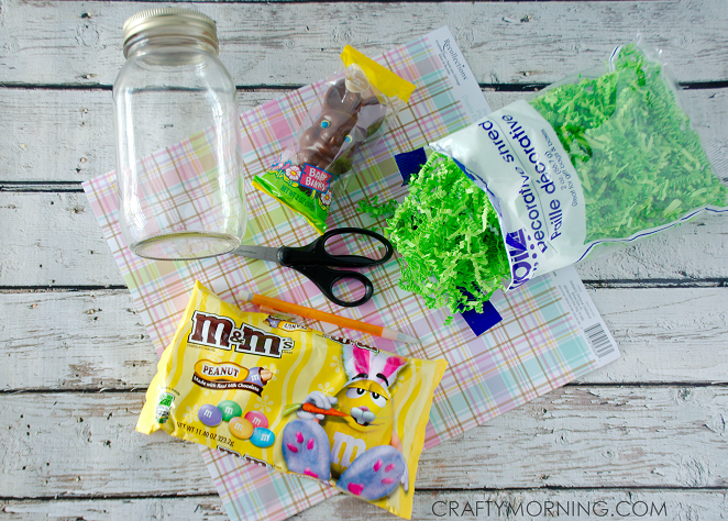 Mason jar chocolate easter bunny gifts crafty morning mason jar easter bunny gift negle Image collections