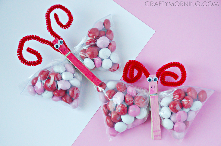 Mm Candy Valentine Butterfly Kids Treats