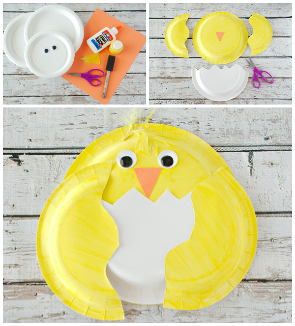 paper-plate-chick-craft-for-kids-easter  sc 1 st  Crafty Morning & Paper Plate Chick Craft for Kids - Crafty Morning