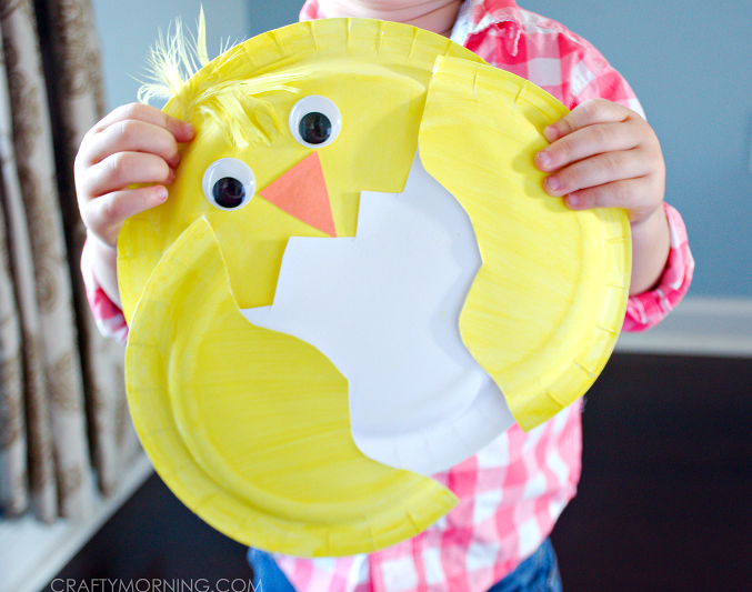 paper-plate-easter-chick-craft-for-kids