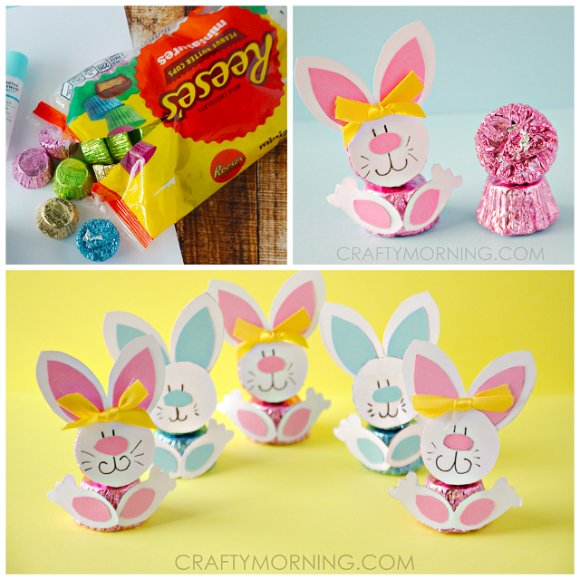Easter Bunny Reese S Egg Cars: Reeses Peanut Butter Cup Easter Bunnies