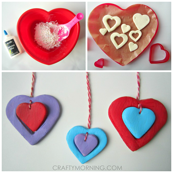 white-clay-heart-pendants-valentine-craft