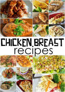 What Recipes Can I Make with Chicken Breast?