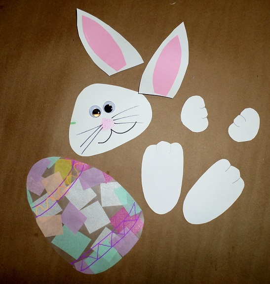 bunny-contact-paper-easter-egg-kids-craft