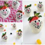 White Chocolate Strawberry Bunnies