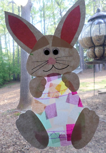contact-paper-bunny-easter-egg-kids-craft