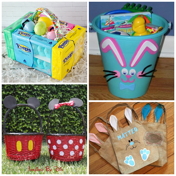 Unique easter basket ideas for kids crafty morning creative easter basket ideas for kids negle Images
