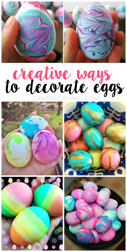 Dying Easter eggs is a right of passage, even though it's usually a messy affair. There's nothing like whipping out the PAAS egg dying kit with it's practically useless wire egg holder and watching those little dye tablets fizz away.