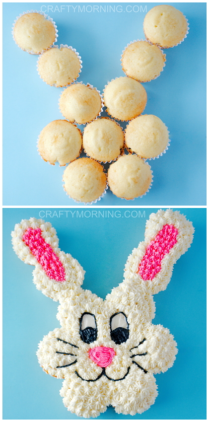 Easy To Make Easter Bunny Cakes