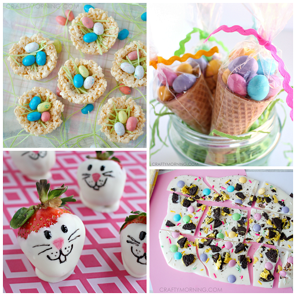 Cute easter treat ideas for kids crafty morning easter treats for kids negle Images