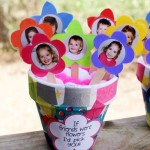 "Clay Pot ""If Friends Were Flowers I'd Pick You"" Gift"