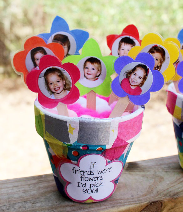 "Clay Pot ""If Friends Were Flowers I'd Pick You"" Gift ..."