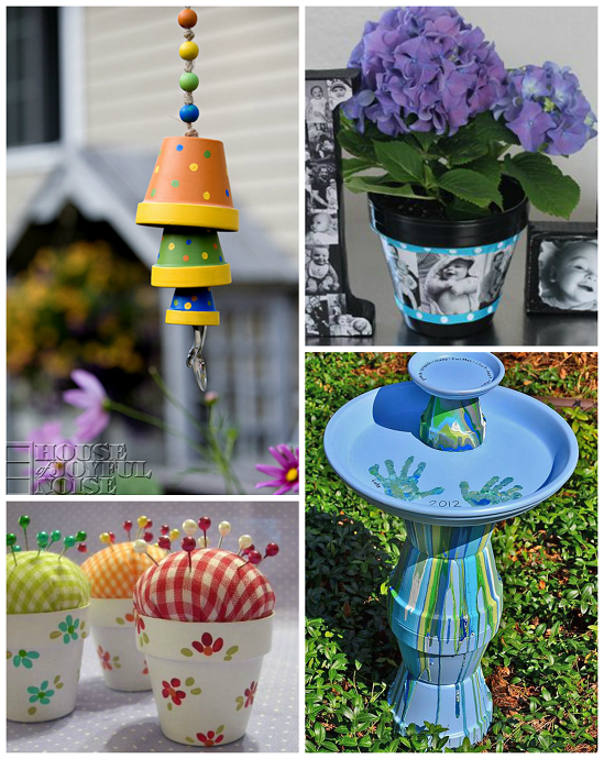 Flower Pot Gift Ideas For Mother S Day Crafty Morning