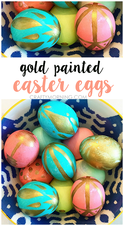 gold-painted-easter-eggs-kids-craft-