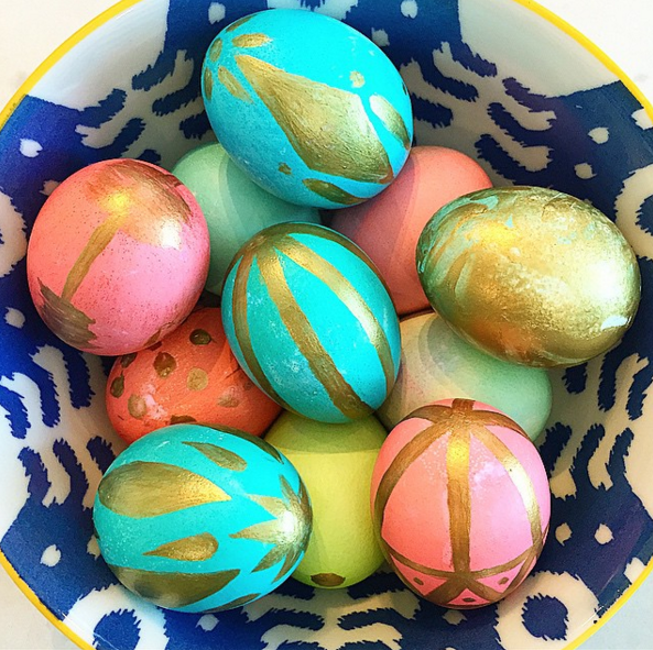 gold-painted-easter-eggs-kids-craft