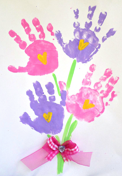 handprint-flower-kids-craft-mothers-day