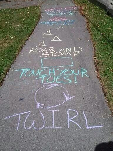 Clever Ways For Kids To Play Hop Scotch Crafty Morning