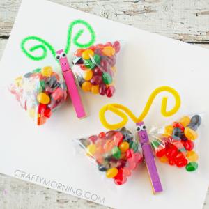 Jelly Bean Butterfly Treat Bags