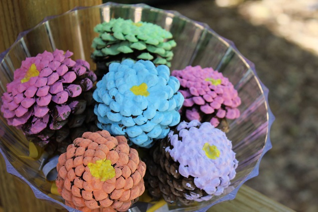 pinecone-flowers-kids-craft