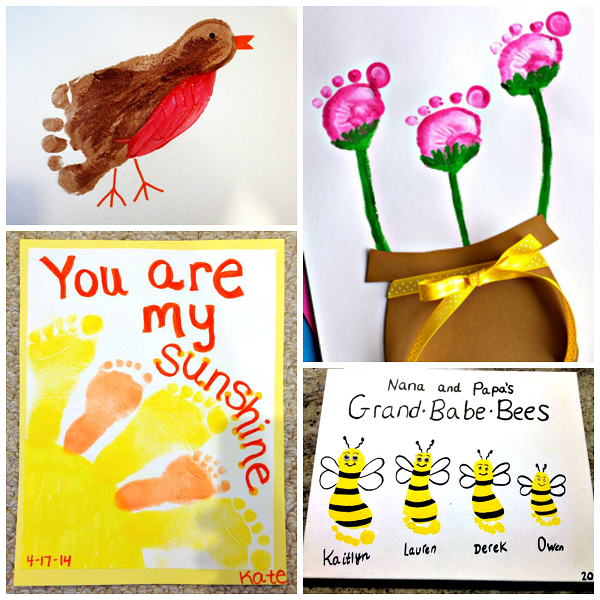 spring-footprint-crafts-for-kids