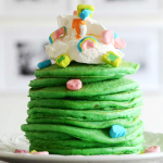 St. Patrick's Day Lucky Pancakes