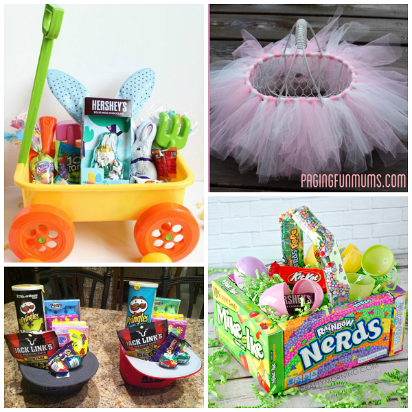 Ideas for easter baskets for kids my web value unique and fun easter baskets for kids negle Images