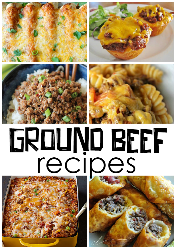 What recipes can i make with ground beef crafty morning for What can you cook with ground beef