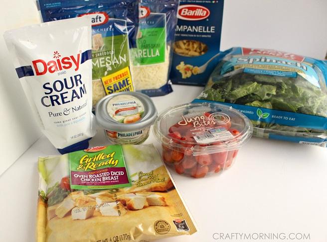 chicken-cheesy-spinach-pasta-recipe