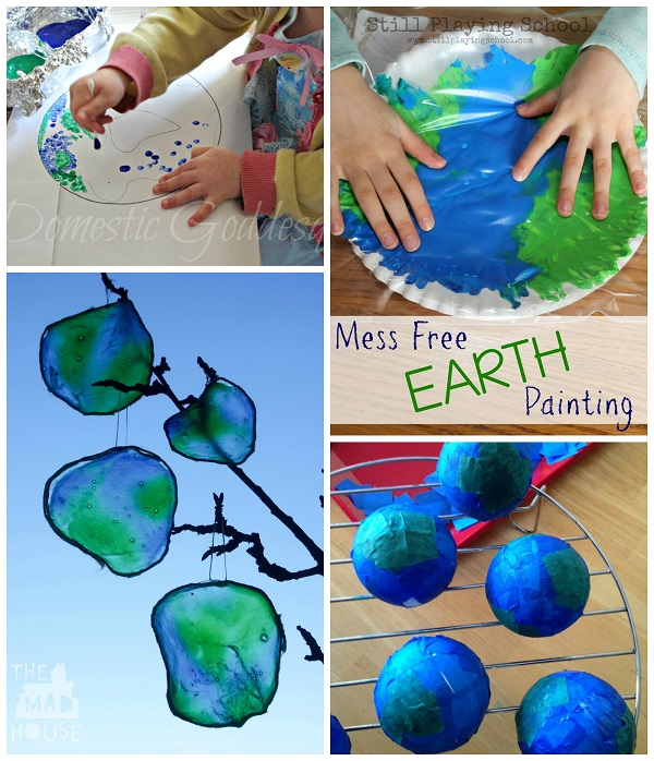 Cool Craft Ideas For Kids Part - 45: Cool-earth-day-kids-crafts