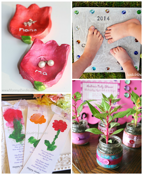 Seriously Creative Mother 39 S Day Gifts From Kids Crafty