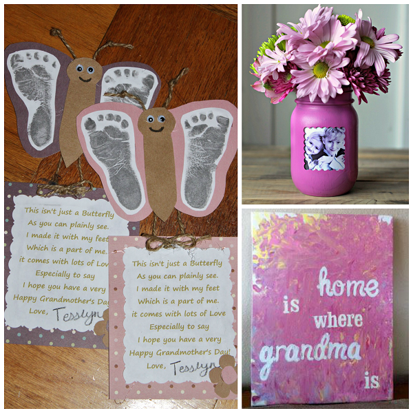 Mothers day gifts for grandma crafty morning gifts for grandma mothers day kids negle