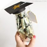 Graduation Glass Bottle Gift (Diploma Money)