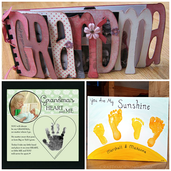 Mothers Day Gifts for Grandma  Crafty Morning
