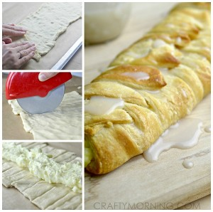 Lemon Cheesecake Braid Recipe