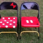 Metal Folding Chair Makeovers