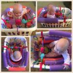 Pool Noodle Laundry Basket Baby Seat