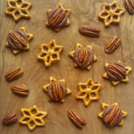 Star Shaped Pretzel Rolo Turtles
