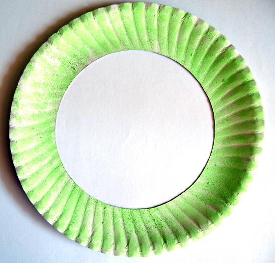 Flower Garden Paper Plate Wreath2
