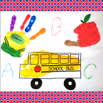 Back to School Handprint Kids Crafts