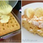 Banana Cream Poke Cake Recipe