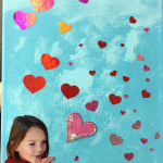 Blowing Kisses Canvas (Mother's Day Gift)