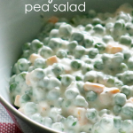 Creamy Ranch Pea Salad Recipe